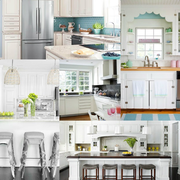 Wood Mode Brookhaven Hardware: Cabinetry Trends: All White Cabinetry