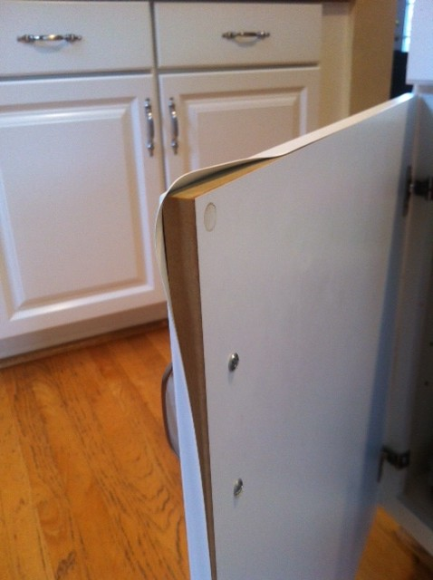 How To Fix Thermofoil Kitchen Cabinets