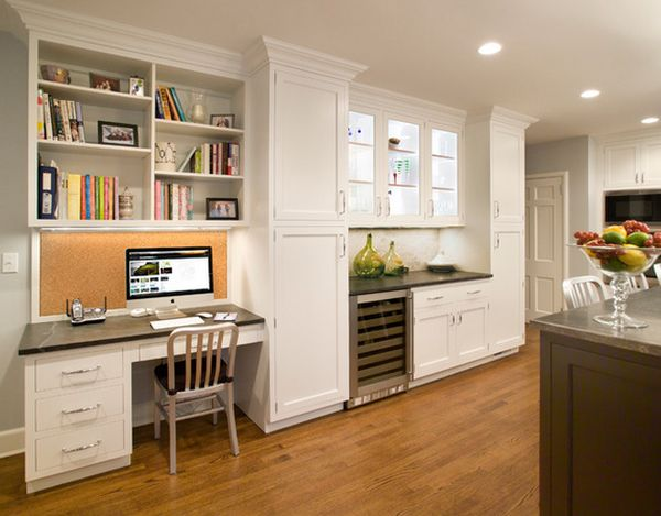 Charming Kitchen Design Tips U2013 The Advantages And Disadvantages Of A Kitchen Desk |  W. Stephens Cabinetry U0026 Design Part 9