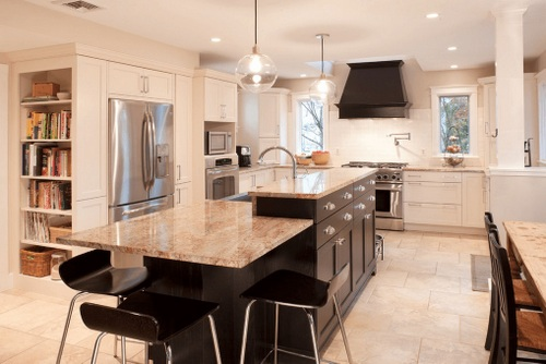 If Your Kitchen Island Is Large, Then The Seating For It Can Utilize Full  Size Chairs. Smaller Kitchen Islands May Be Only Able To Accommodate Two  Seats.