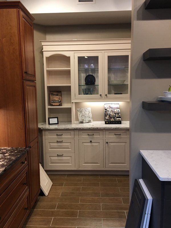 Brookhaven II Cabinetry - Cambria Quartz Countertop - Brookhaven Hardware