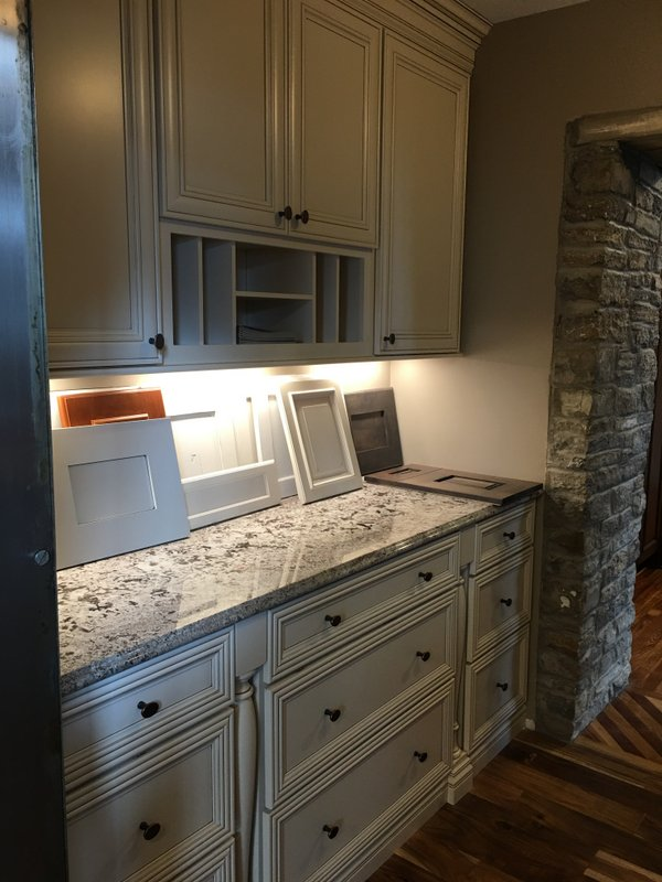 Koch Cabinetry - Bianco Granite Countertop - Berenson Hardware