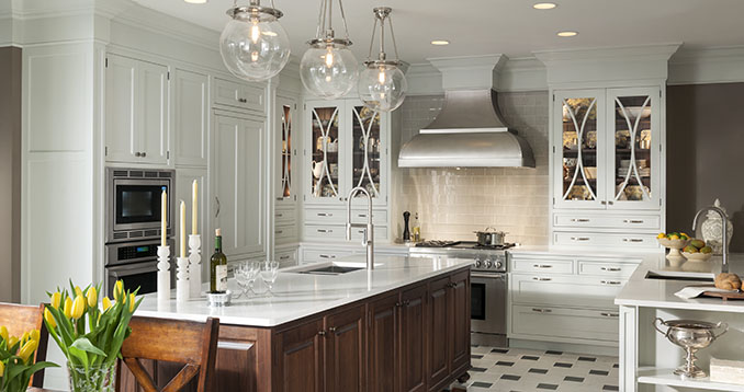 Do You Like To Entertain at Home? Check Out the Embassy Row Collection by Wood-Mode Cabinetry…