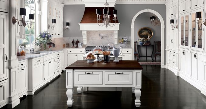 Design Inspiration: Wood Mode's Southampton Collection Offers Classic Georgian Architecture with a Country Home Feel