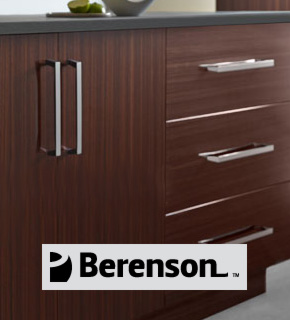 Spotlight on Berenson Hardware's Classic Comfort Selection of Cabinet Hardware