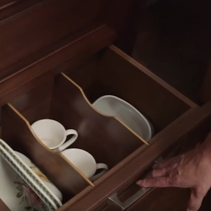Wood-Mode Cabinet Organization Solutions Make Storing Your Dishes, Cutlery, and Everything Else Just a Little Bit Nicer!