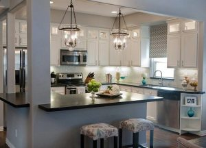 Home Remodeling Tips – Some Hybrid Open/Closed Layout Design Ideas ...