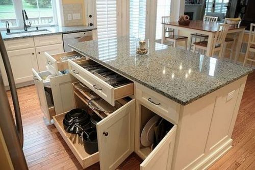 The Kitchen Island For Storage