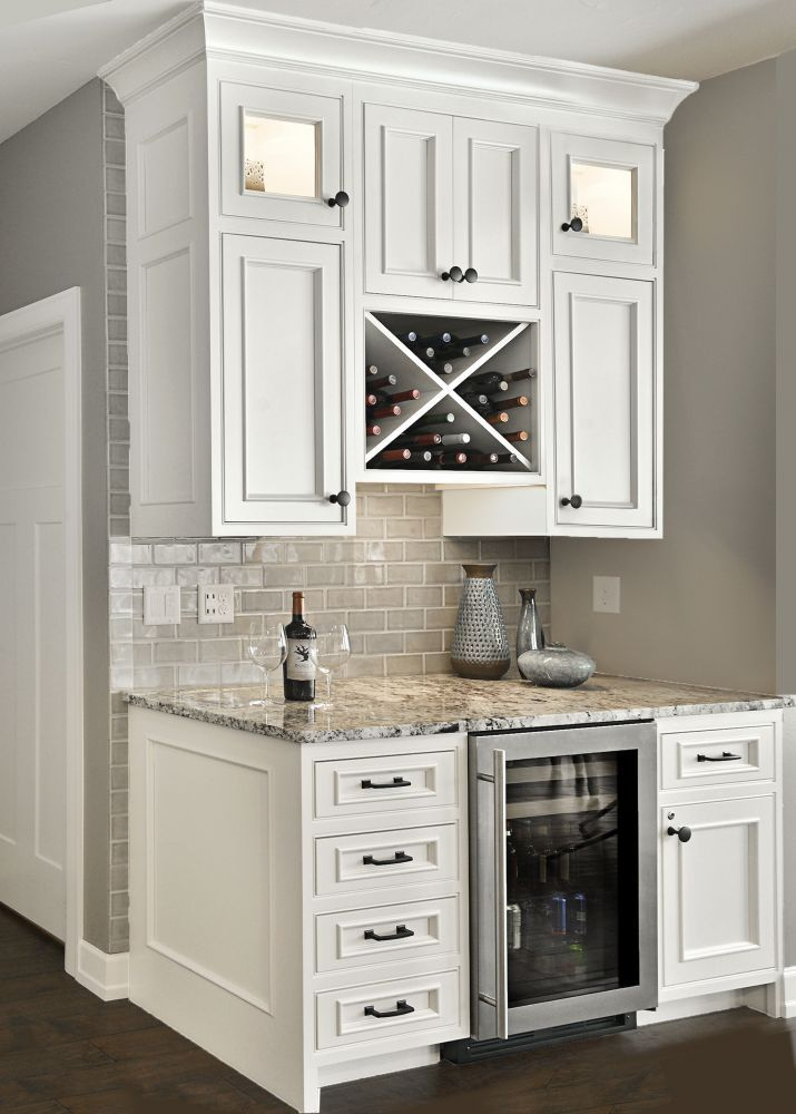 Kitchen Design Tips – Different Beverage Center Ideas That Can Both ...