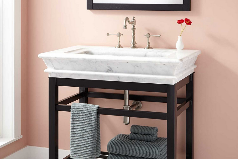 Console sink for Bathroom remodel 41017
