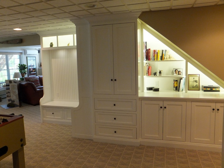 Basement Storage Cabinets Magnificent Basement Cabinets Ideas
