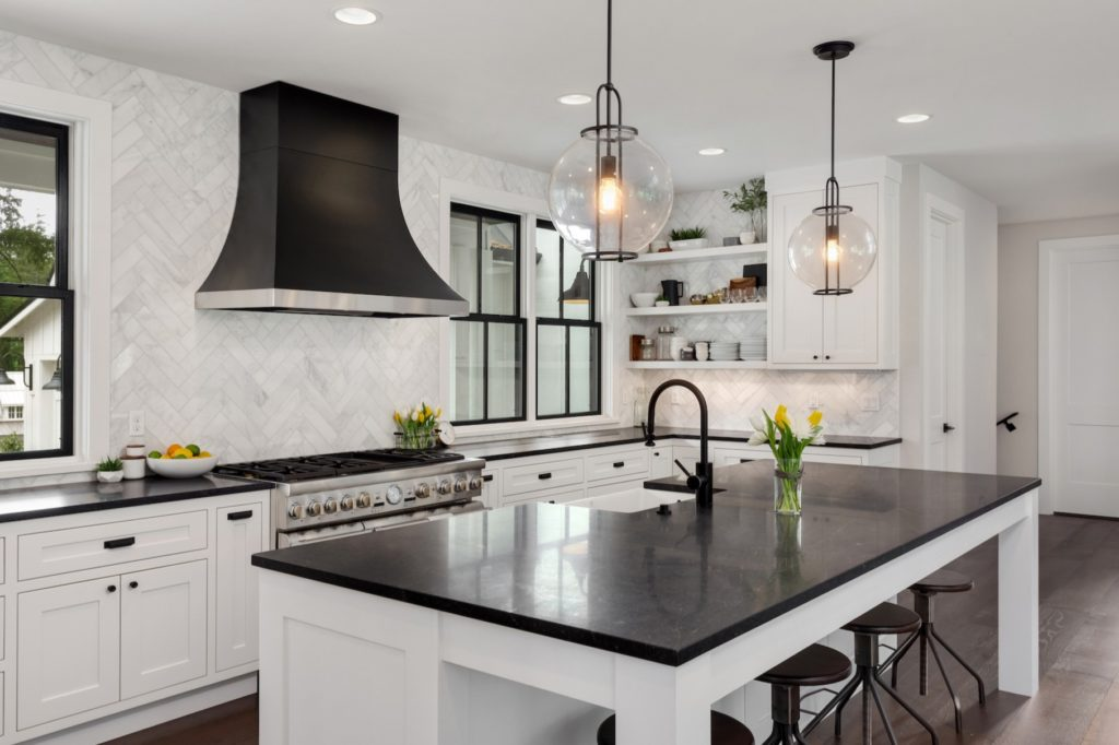 Image of: The Difference Between Modern And Contemporary Kitchen Designs