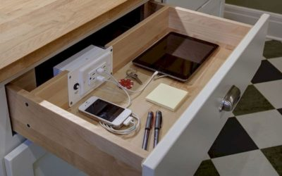 When Designing a New Kitchen, Make Sure To Incorporate Technology Into Your Design…